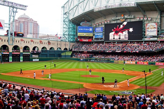 Minute Maid Park In 2012 Cheaper Tickets Cheaper Beer New Outside
