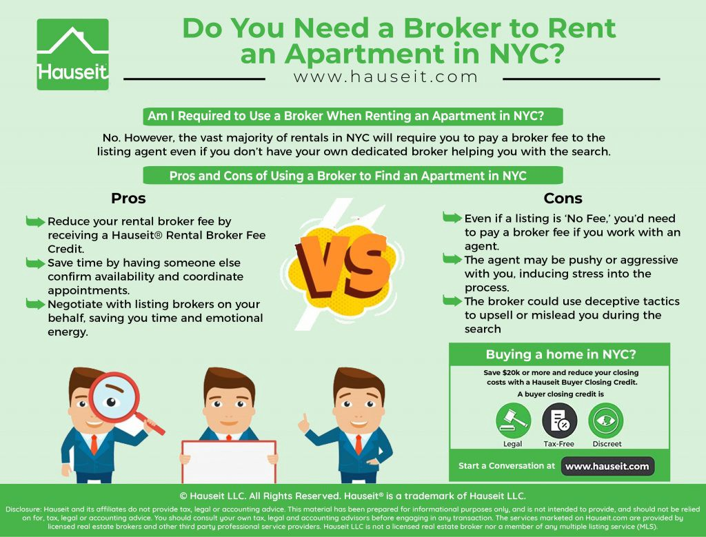 If You Have Your Own Rental Broker The Amount Of Total Fee Paid Will Usually Remain Same Difference Is That It Be Split Between