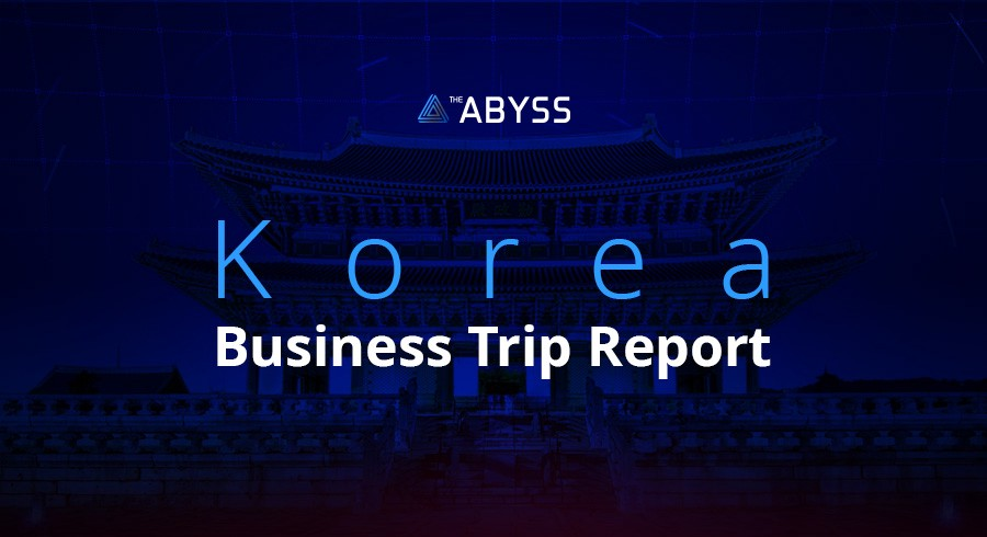 the abyss meets south korea a business trip report