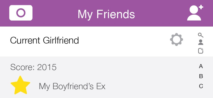 boyfriend is friends with his ex