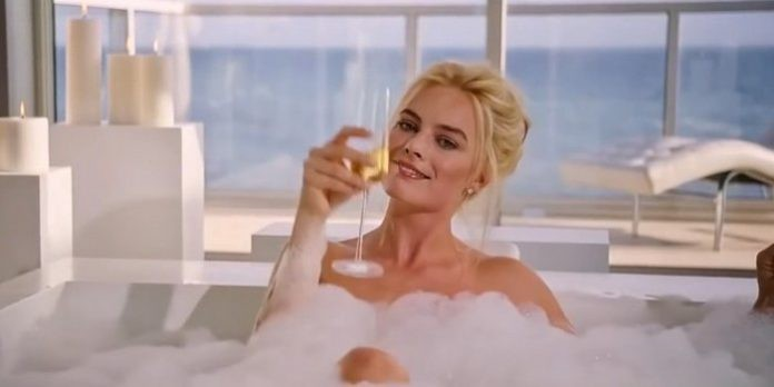 Image result for margot robbie bathtub