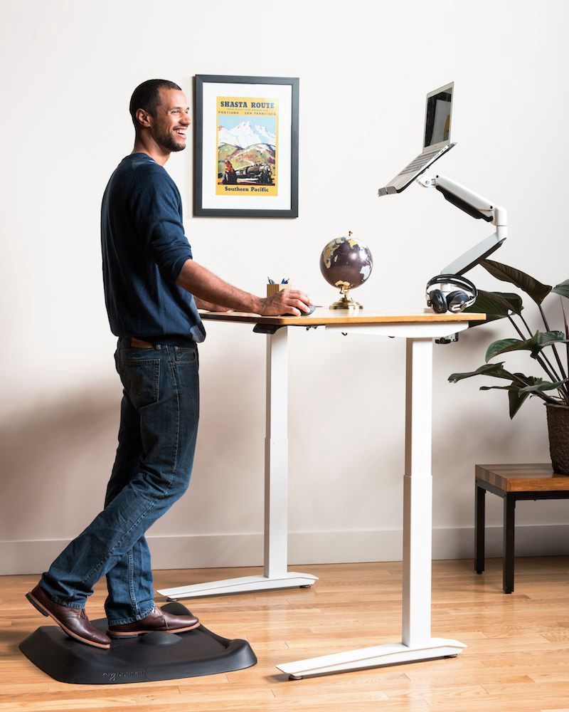Local Engineer Refuses To Work Without A Standing Desk