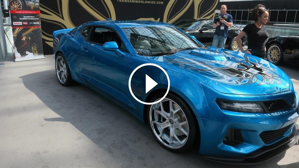 New Hp Trans AM Super Duty Muscle Car TopSpeed One Medium - American muscle car show 2018