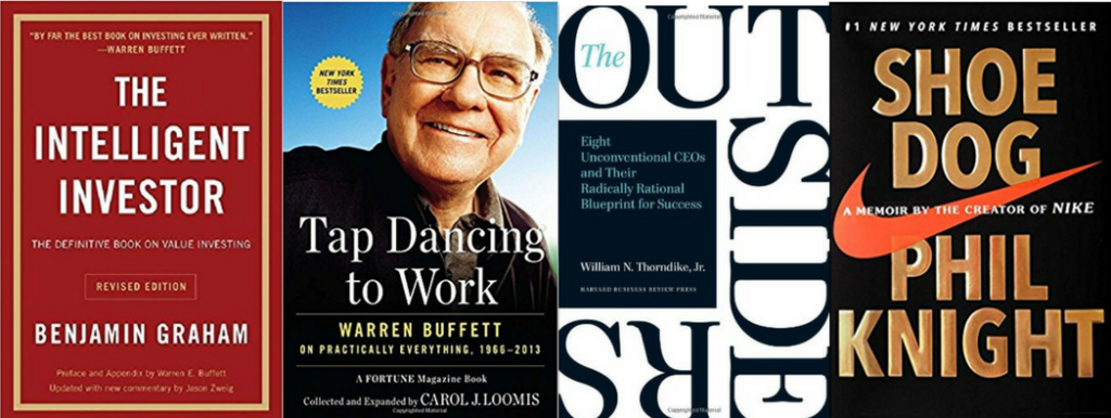 warren buffett gives great book recommendations each year in his companys annual report