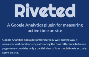 riveted google analytics plugin active time on site