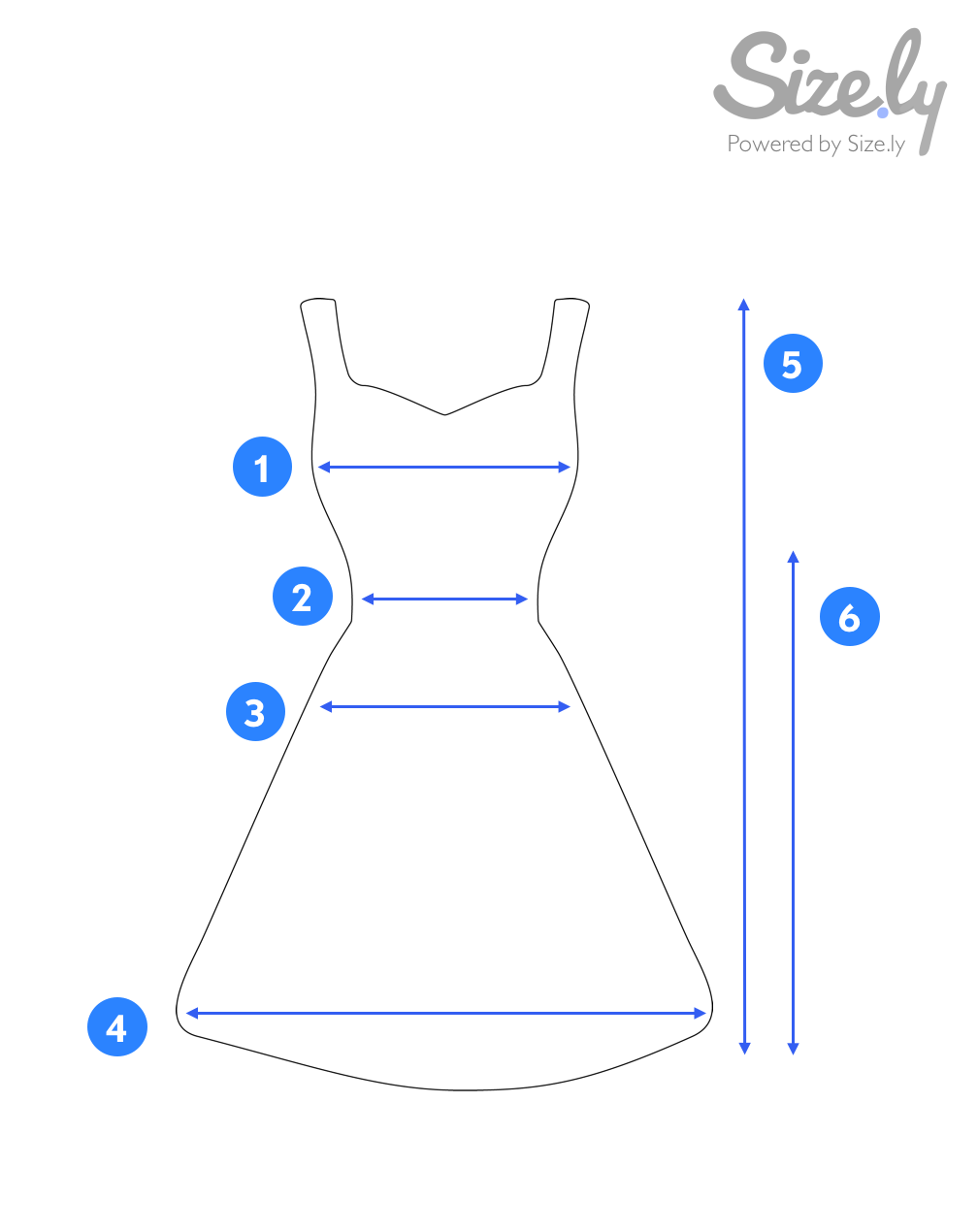 807aff5735 How to Measure a Dress  – Sizely – Medium