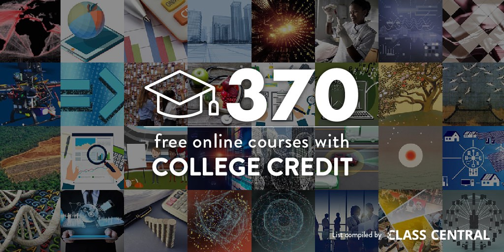 370 online courses with real college credit that you can access for free malvernweather Image collections