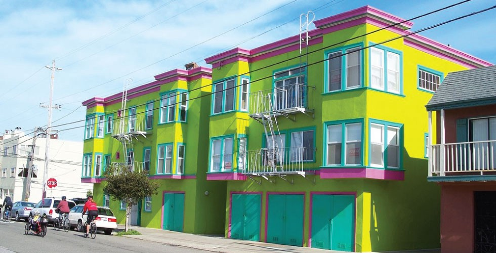 House Paint Jobs That Would Only Fly In Sf The Bold Italic San Francisco