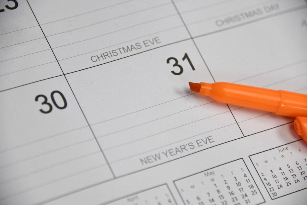 Write your deadlines down in your calendar.