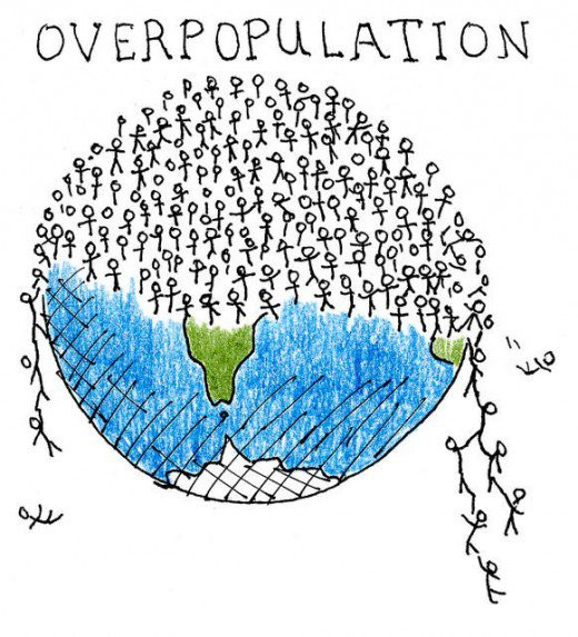Overpopulation, the root cause of all societal problems and yet politically incorrect to discuss