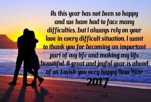 a great and joyful year is ahead of us i wish you very happy new year