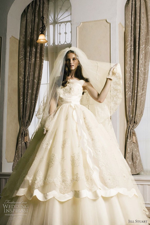 e9fefeb08db6 Jill Stuart Wedding Dresses 2012 The Seventh Collection