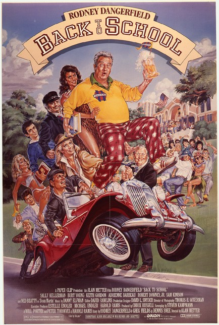 """Classic 80s Movie: """"Back to School"""" – Go Into The Story"""
