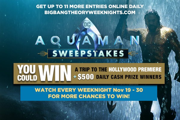 Sweeppea Hosts Aquaman SMS Text Sweepstakes – Sweeppea – Medium