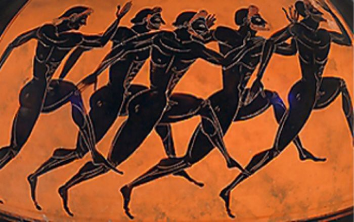 The prizes in the ancient olympics sporting