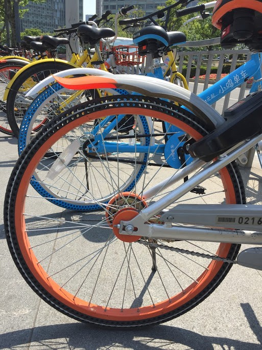 Holey Airless Tires User Experience Tradeoffs In China S Bike Sharing Wars