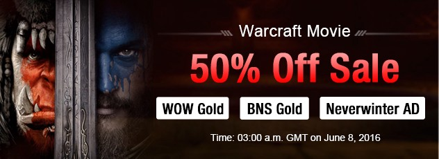 Best time to gain Safewow 50% discount BNS Gold on June 8,2016