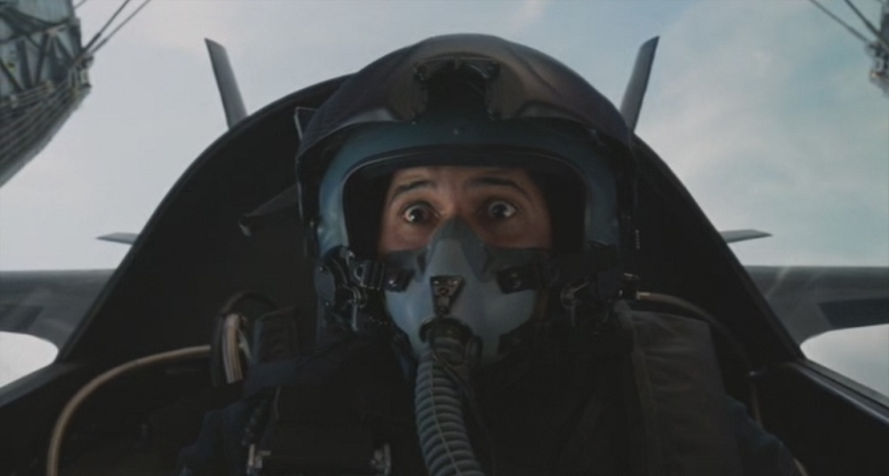 the disastrous movie career of america�s new stealth fighter