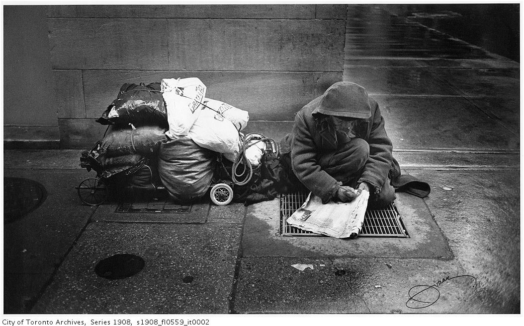 giving money to the homeless the policy