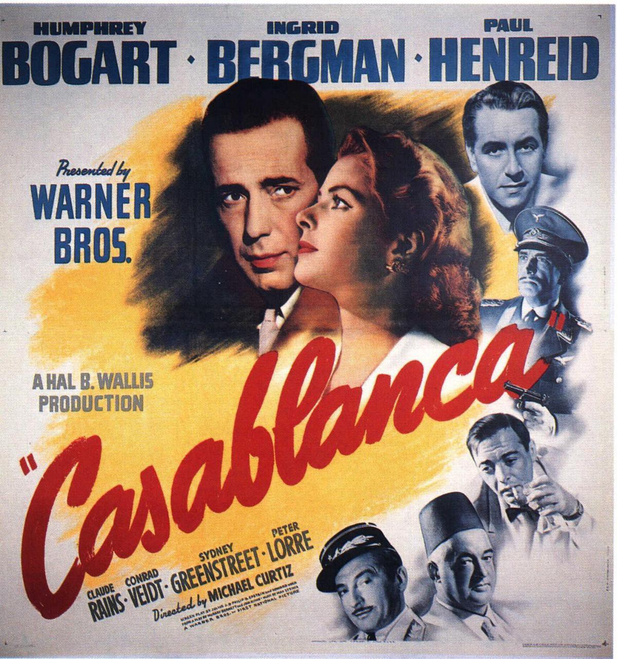 an analysis and a new perspective in the film industry movie casablanca directed by michael curtiz