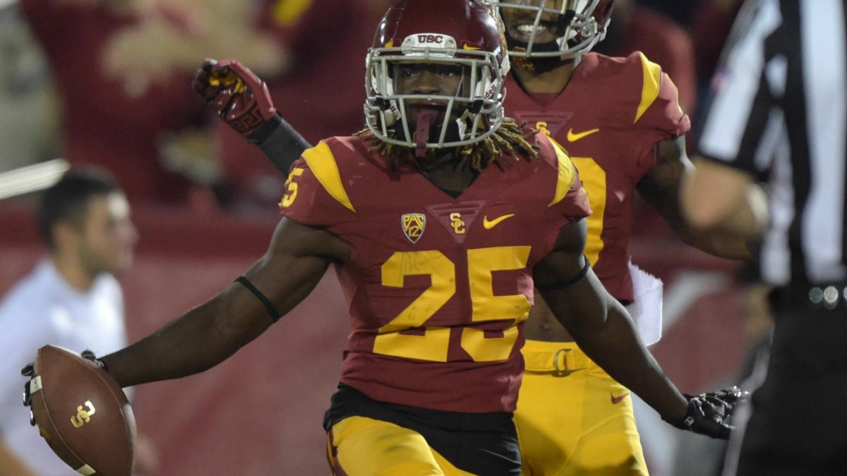 Image result for usc rb in the draft pics