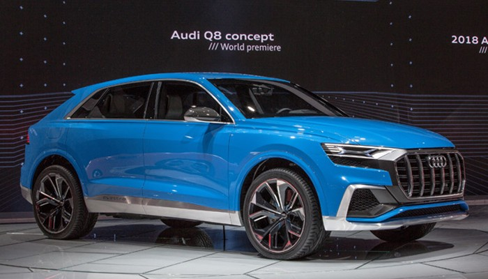 Audi Q8 E Tron 2018 Image Cars Medium