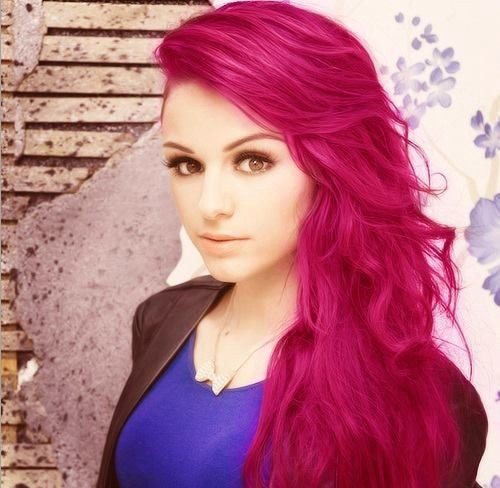 Crazy Hair Color Trend Is Neon Pink Eric Medium