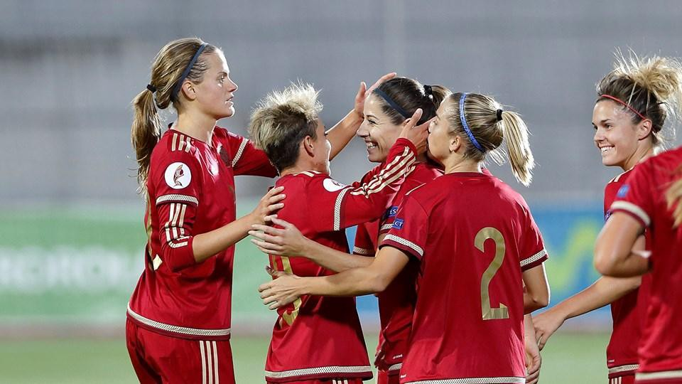 Image result for spain women's national football team