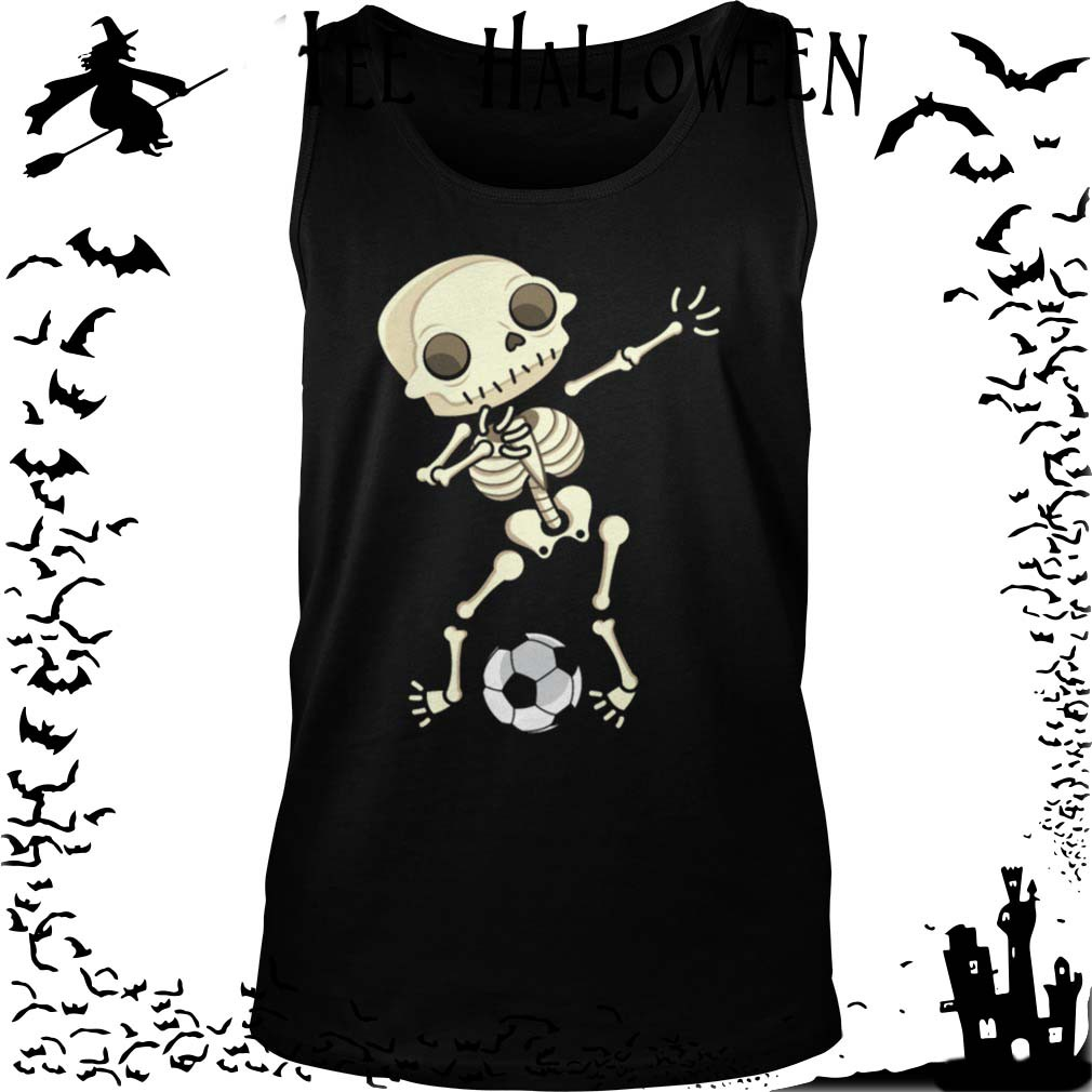 34bb4758 If you are not 100% satisfied with Dabbing Skeleton Soccer Halloween ...