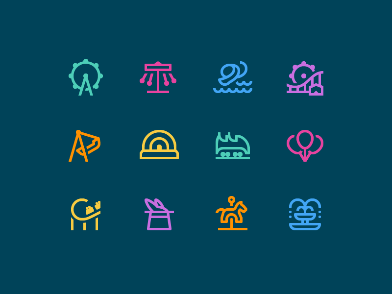 Design Tools: 33 Bright Icon Packs of Various Styles and Themes