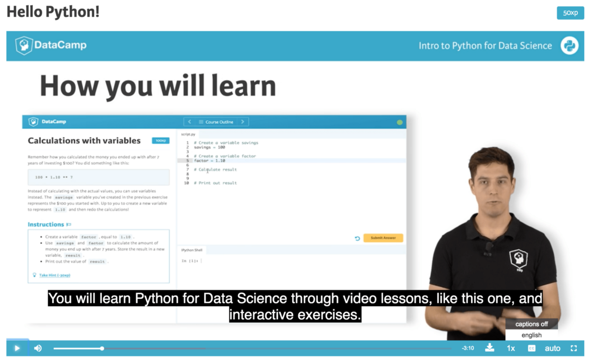 You Are Not Going To Learn Deep Analytics From A Video
