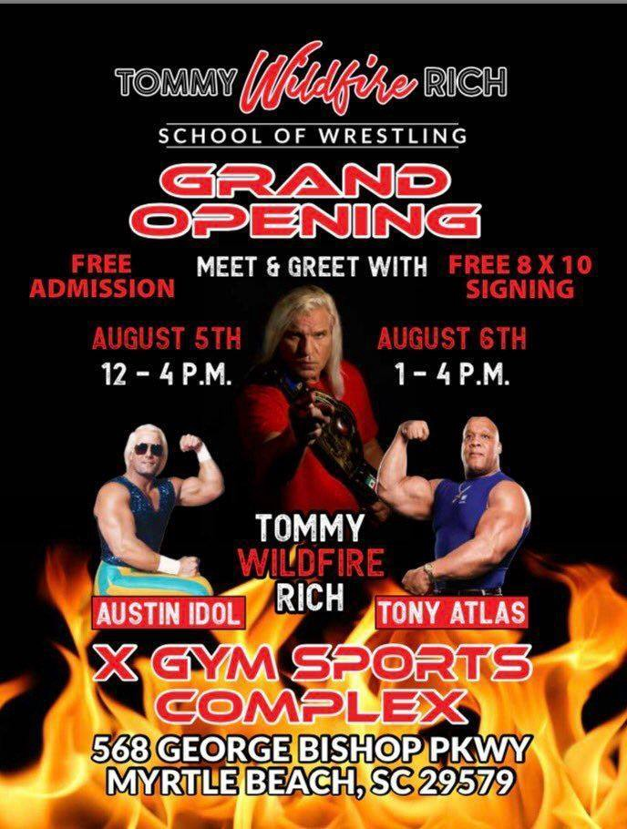 National Wrestling Alliance Legend Wildfire Tommy Rich Interview