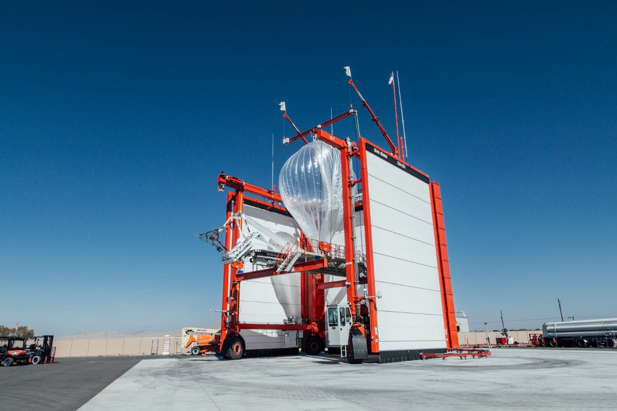 Project Loon balloons provide wireless internet access to areas without proper infrastructure.