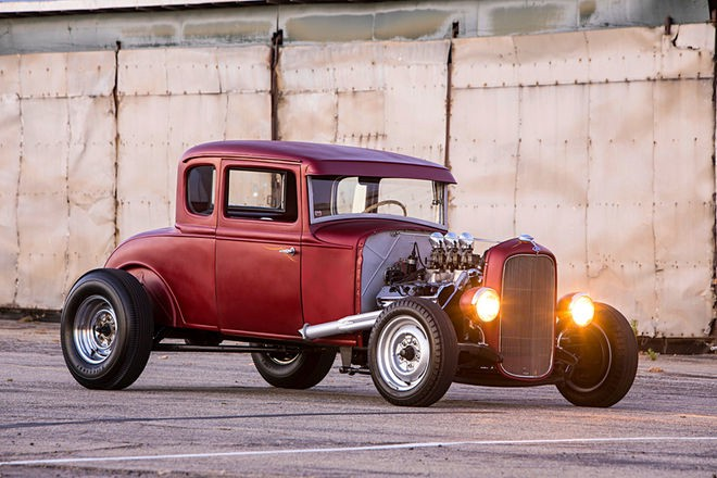 a model ford coupe