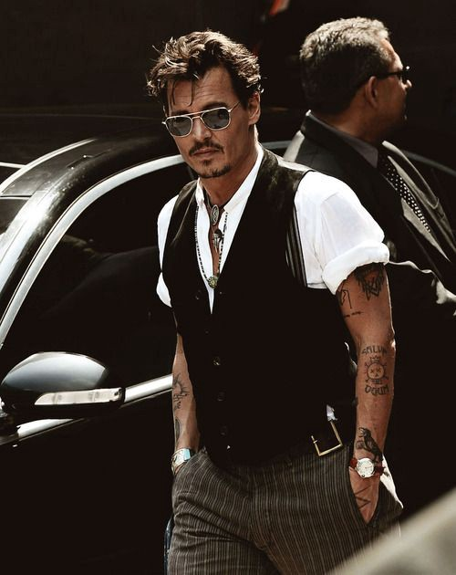 71b35cb00c2f Styling for Men   How to dress like Johnny Depp – Instant Attire – Medium