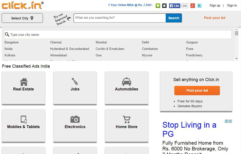 List of top 10 free classifieds & Ads sites in india