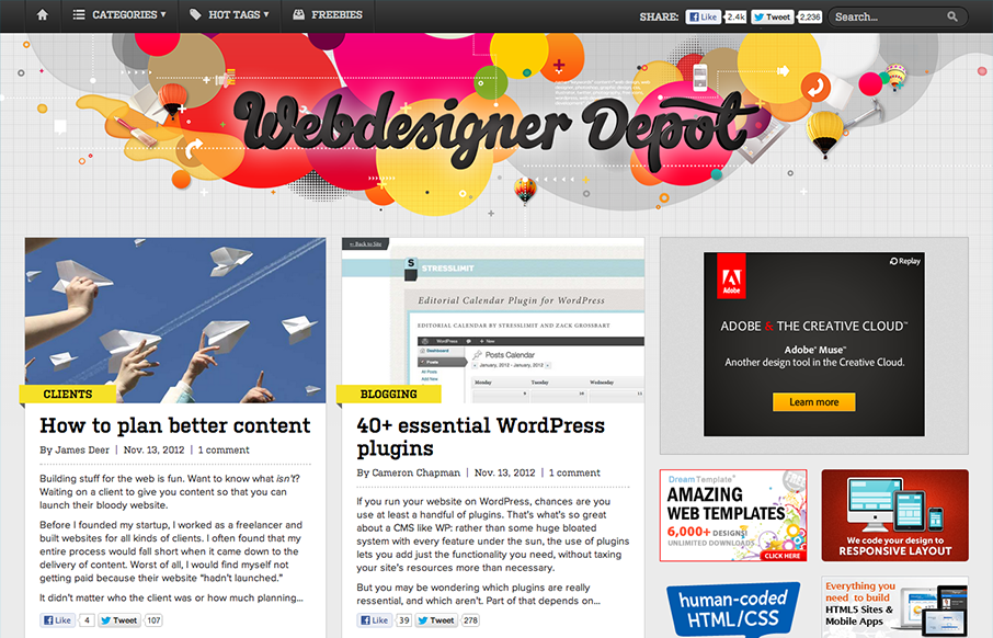 What are the top Newsletters web designers must follow?