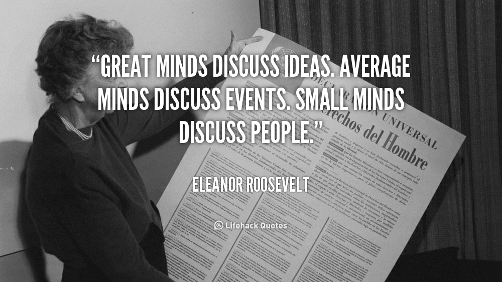 Ive Always Loved This Quote By Eleanor Roosevelt And I Believe It