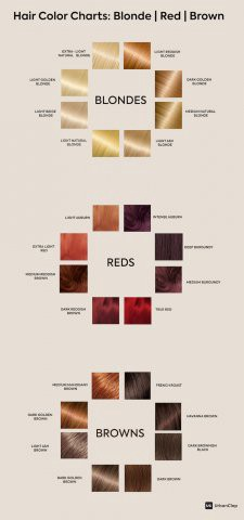 How To Choose The Right Color From Hair Chart