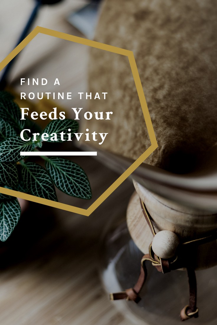 find a routine for creativity