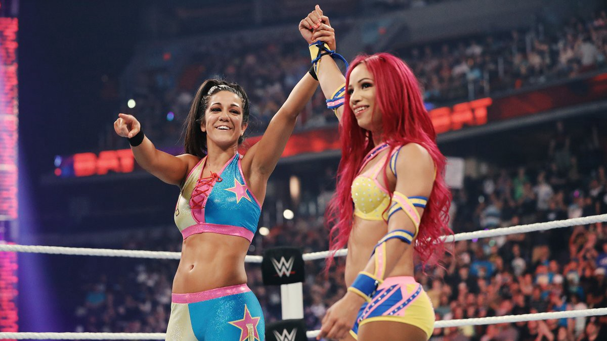 Bitter enemies to best friends  Bayley and Banks grab Battleground spotlight 8e6551c52