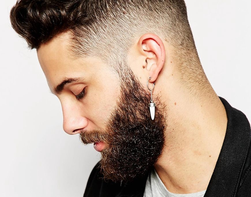 cfab00bda The first earrings were worn by men. In the ancient world, they were  symbols of power and prestige. In some tribes, they served as amulets  against evil ...