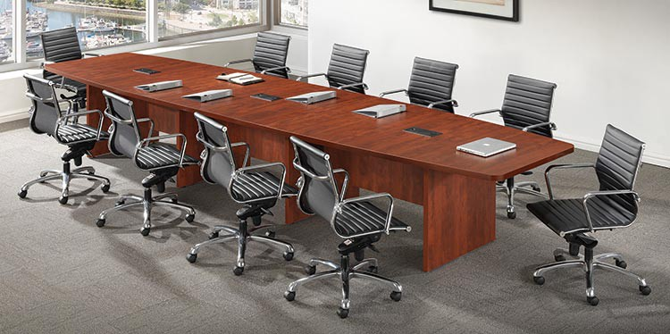 Buy Boat Shaped Conference Table By Office Source - Office source conference table