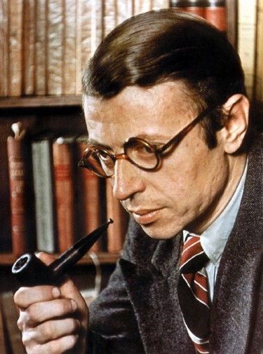 Jean-Paul Sartre (Tricolor Magazine, 1945)