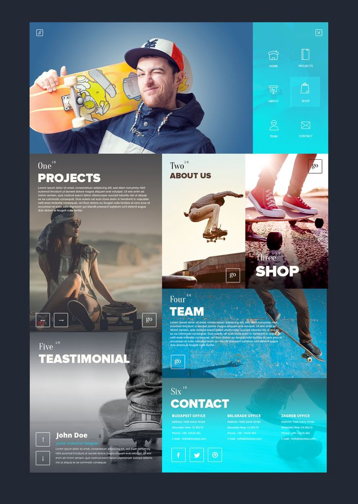 quality design 2565c 5c027 Web design inspiration    1095 – From up North