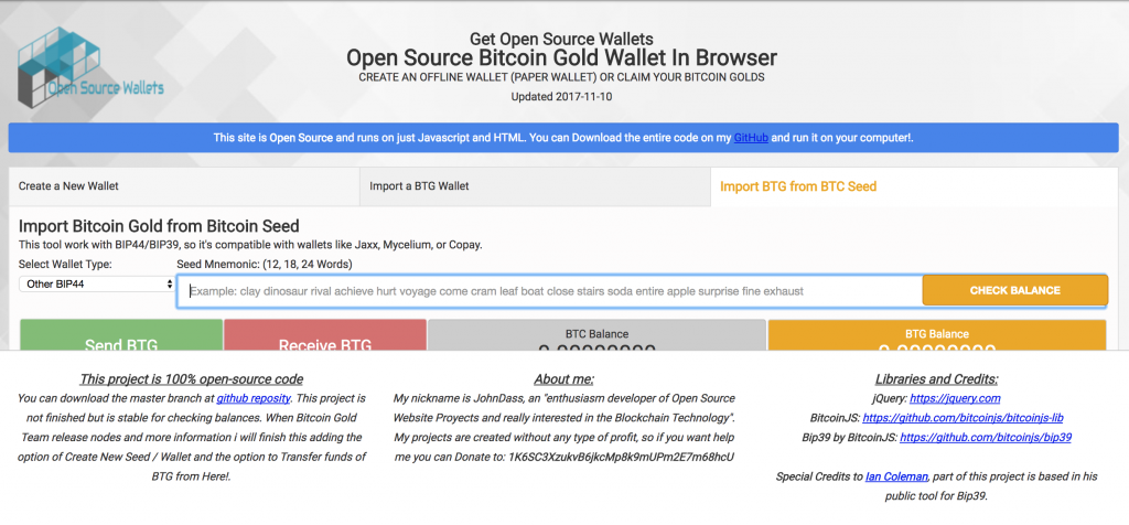 Bitcoin Gold Wallet That Stole Private Keys Scooped $3 3 Million