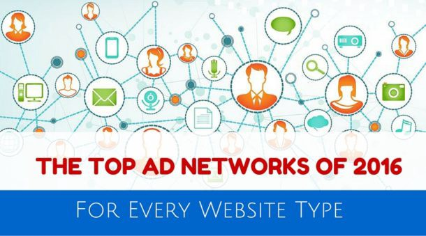 Top Ad Networks Of 2016 For Every Website Type Ad Optimization
