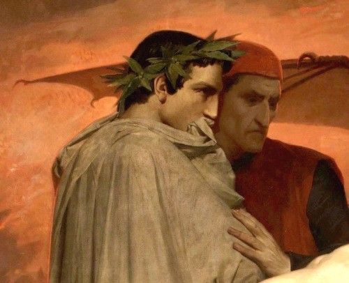 Dante and virgil in hell apologise, but
