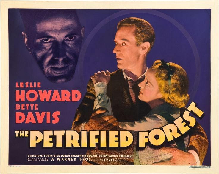 Classic 30S Movie The Petrified Forest  Go Into The Story-6416