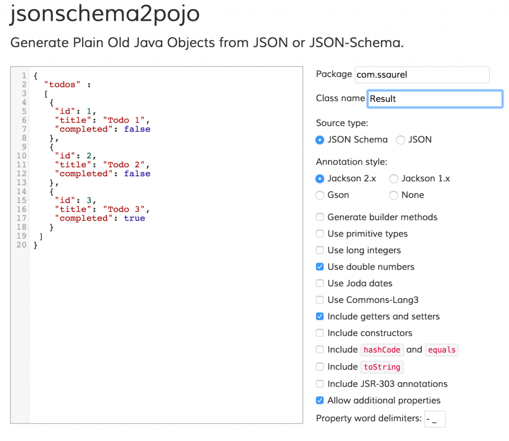 Parse and write JSON data in Java with Gson – Sylvain